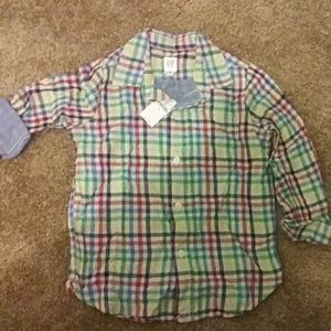 Any 3 items for $8.00 GAP Stripe Button Down Shirt